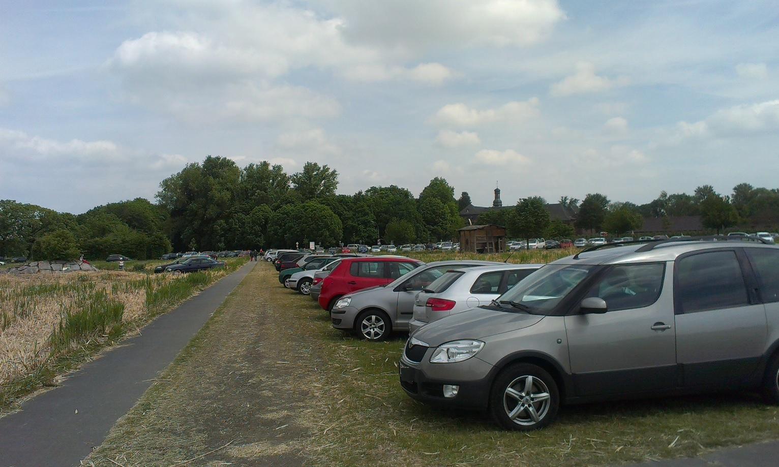 Kostenlose Parkplätze Nikolauskloster