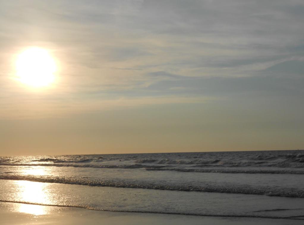 Sonnenuntergang in Cadzand