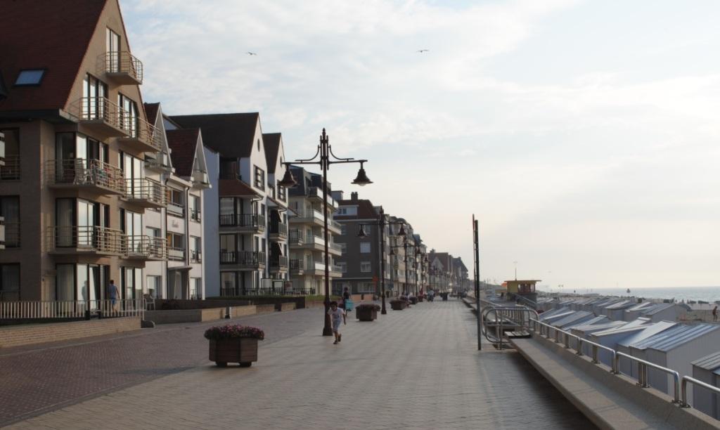 Promenade in De Haan