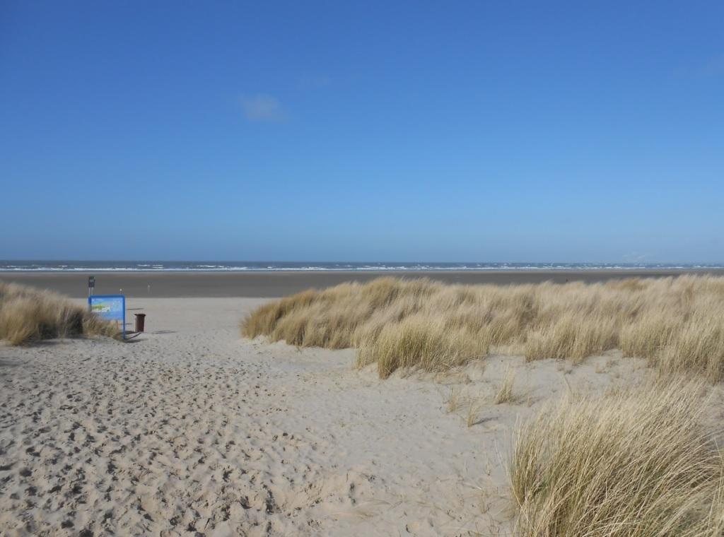 Sandstrand in Ouddorp (Zeeland)