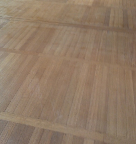 Trittschalldämmung unter Holzbogen